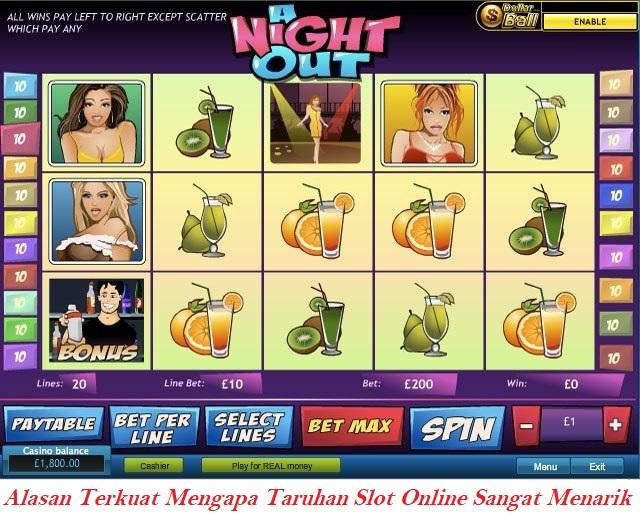 Alasan Terkuat Mengapa Taruhan Slot Online Sangat Menarik