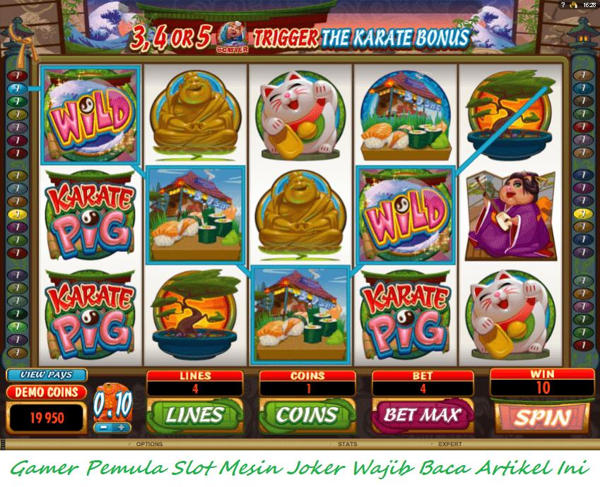 Gamer Pemula Slot Mesin Joker Wajib Baca Artikel Ini
