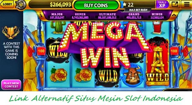 Link Alternatif Situs Mesin Slot Indonesia